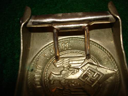 """""""Double"""" Maker Marked HJ Buckles"""
