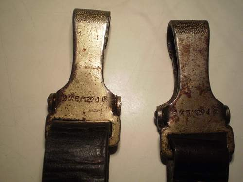 Hj Buckle,Belt and unknow strap.