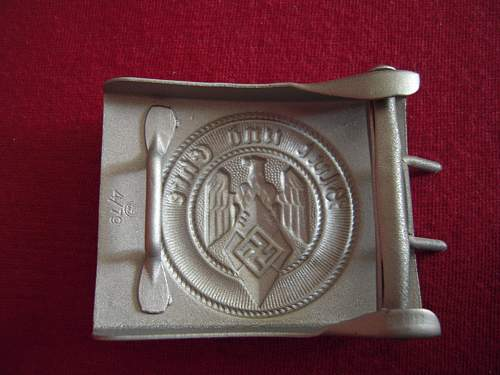 Hj buckle by RZM 4/79