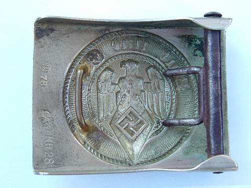 Click image for larger version.  Name:Nickel HJ Puc RZM 78 RZM KH28 buckle rear.jpg Views:52 Size:129.3 KB ID:334823