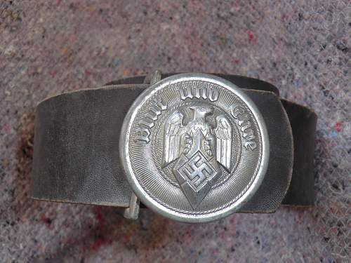 Hitler Youth leaders belt and buckle