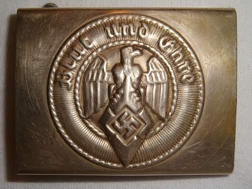 My new Deutsche Jungvolk buckle
