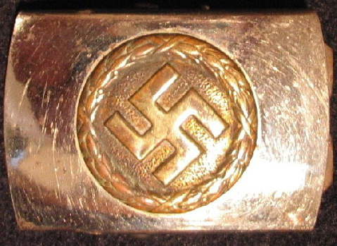 Small NSDAP Jugend or Sympathizer's Buckle