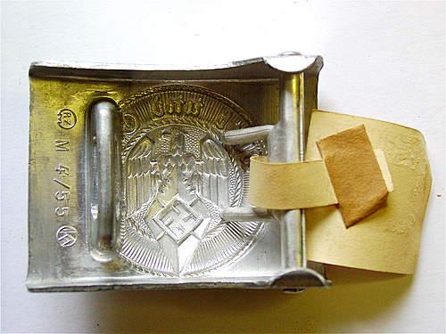 Mint tagged HJ by Julius Kremp