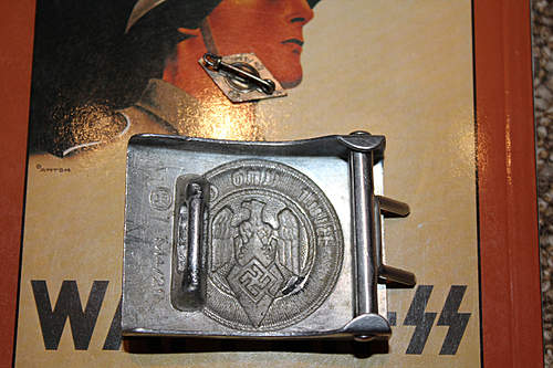 HJ M4/27 Belt Buckle Alu