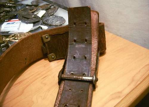 this hj belt and buckle a legit setup??