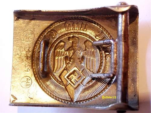 Hitler Jugend by Adolf Baumeister RZM M4/59