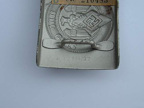 Click image for larger version.  Name:HJ with tag makers mark $85.jpg Views:165 Size:92.8 KB ID:433575