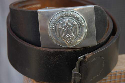 HJ and Heer Buckles and Belts
