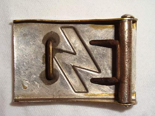 reduced size DJ buckle