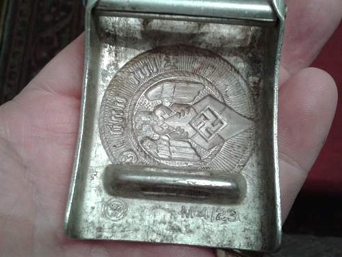 Hitler Youth Buckle RZM M4/23