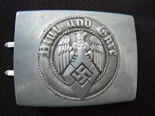 Newest Hitler Jugend buckle
