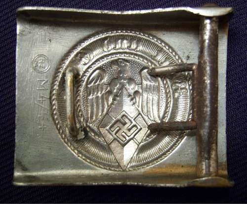 M4/22 youth buckle in gold?