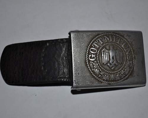 Hitler Youth Buckle RZM M4/46