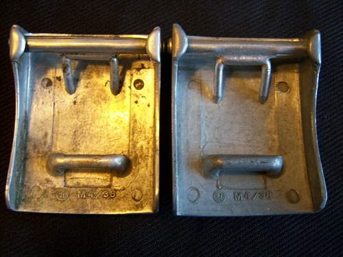 HJ injection molded Aluminum buckles