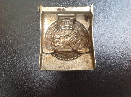 Hj buckle for review