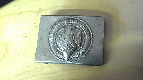 Hitler Youth Belt and Buckle