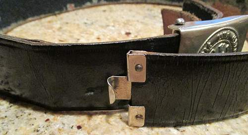 HJ buckle & Belt set