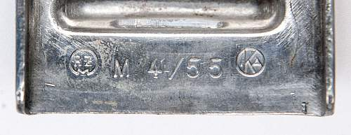 Mint unissued M4/55 with label.