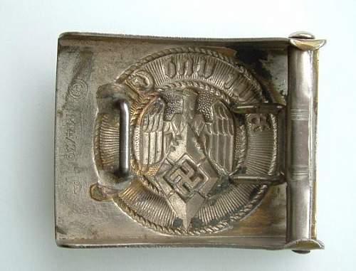 Assmann Hitler Jugend buckle