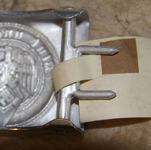 HJ buckle...... Fake? or Mint?