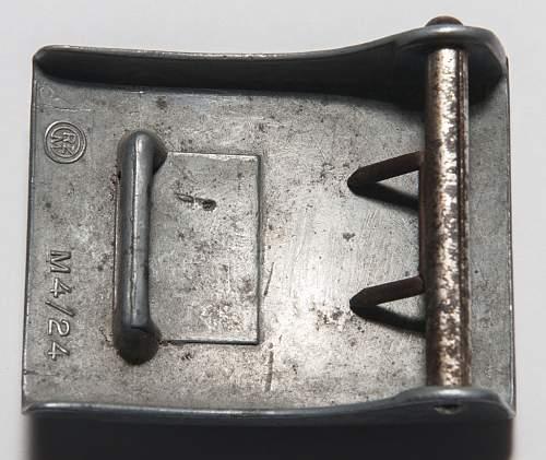 HJ M4/24 Zinc with pressed paper ersatz belt.