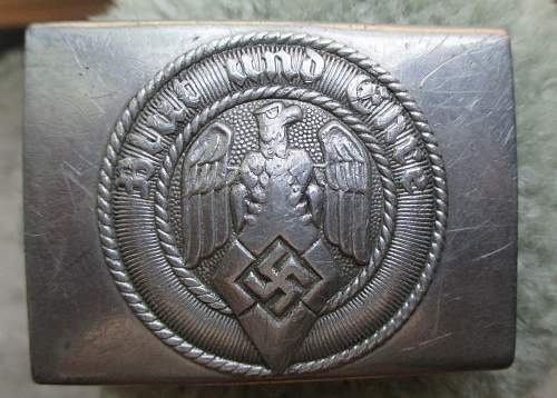 M4/38 Richard Sieper & Söhne Buckle with belt for discussion