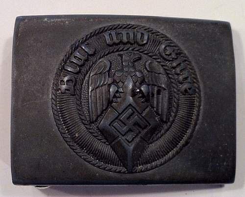 My Hitler Jugend belt and buckle collection