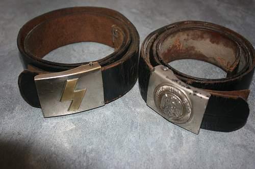 Complete HJ/DJ Belts & buckles