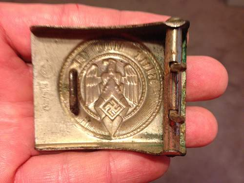 Hitlerjugend Belt Buckle pricing opinions please