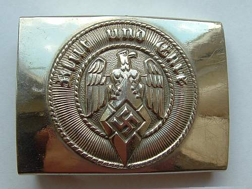 Click image for larger version.  Name:M4_39 Nickel HJ buckle by F W Assmann & Sohne Ludenscheid Front.jpg Views:53 Size:148.2 KB ID:848374