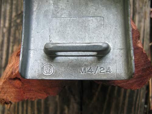 M4/59 Adolf Baumeister - Zinc