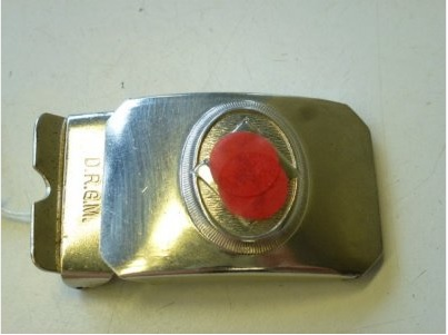 Small buckle for kids D.R.G.M (2,8 cm / 1,1 inches)
