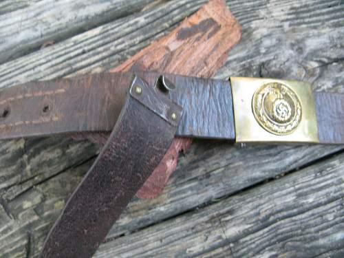 NSDAP Youth w/belt