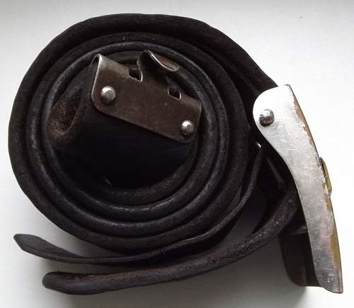 Two buckles DJ (RZM KH 24  Friedrich Linden  and small size with belt)