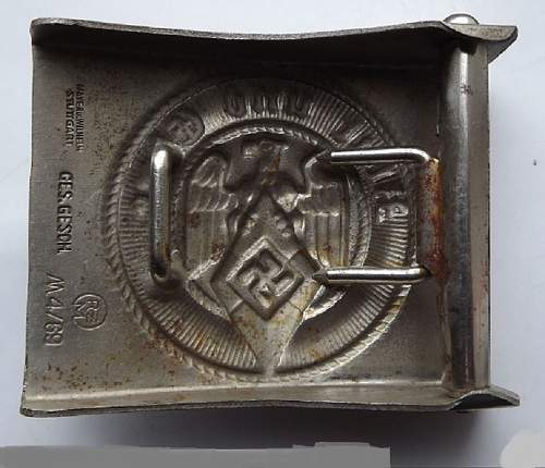 Double Marked Buckles