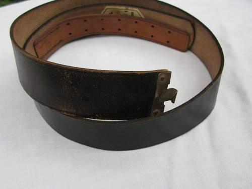 HJ RZM Belt w/Tag