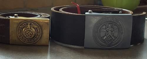 Early HJ/NPEA belt and buckle?