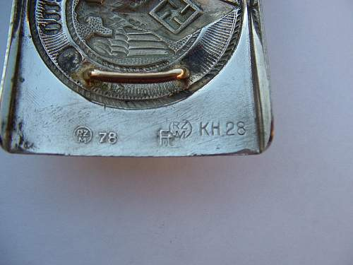 Click image for larger version.  Name:Nickel HJ Puc RZM 78 RZM KH28 buckle Makers 1.jpg Views:38 Size:104.8 KB ID:941608