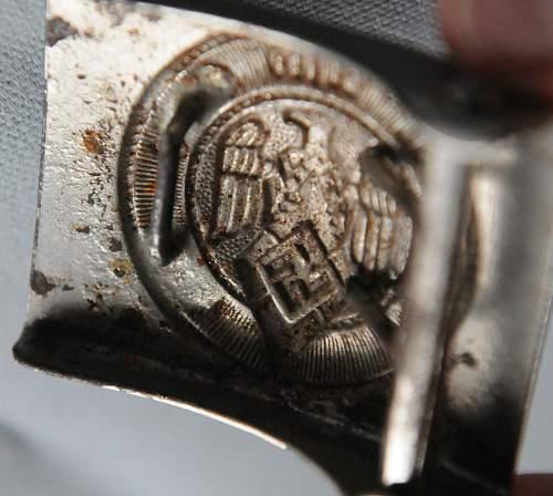 Click image for larger version.  Name:HJ Members Belt Buckle (Deutsche Jungvolk) back.jpg Views:33 Size:206.0 KB ID:941954