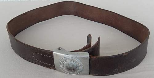 HJ Belt Buckles