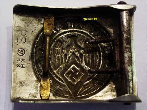 HJ Buckle & Belt - M4 - 13 Paul Schuhmacher - Nickel on Steel
