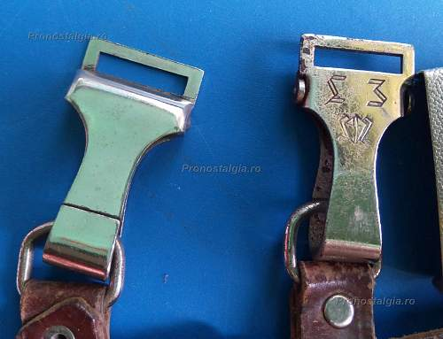 ''VORkampfen''Belt and Buckle rounded svastica