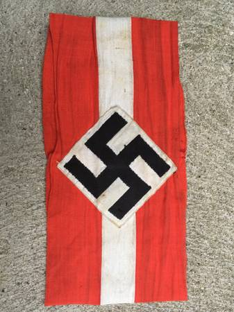 WW2 Military Hitler Youth Armband