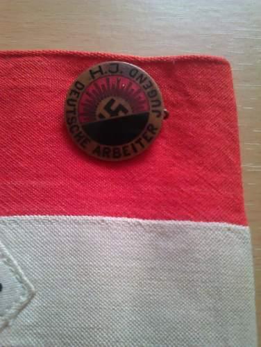 Early HJ badge