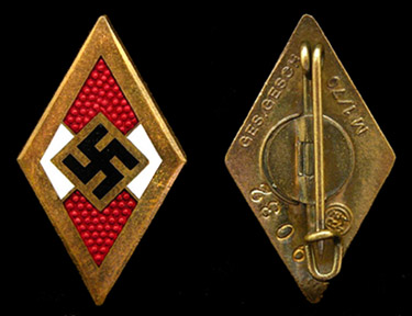 "Hitler Youth ""Honour Badge"""