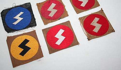 Deutsches Rote Kreuz Pin & Hitler Jugend Patch w/Rune: Authenticity & Identification Help