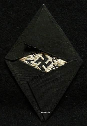 HJ arrow in diamond patch,good one?