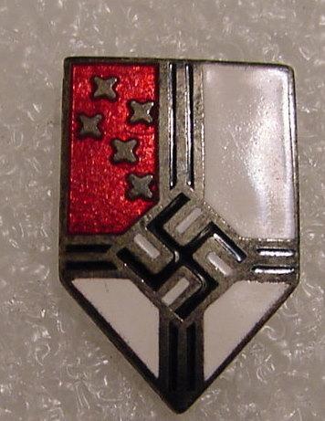 Hitler Youth Auslander Foreign Member Badge