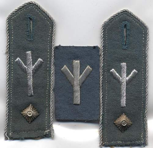 HJ leader tunic and its insignia